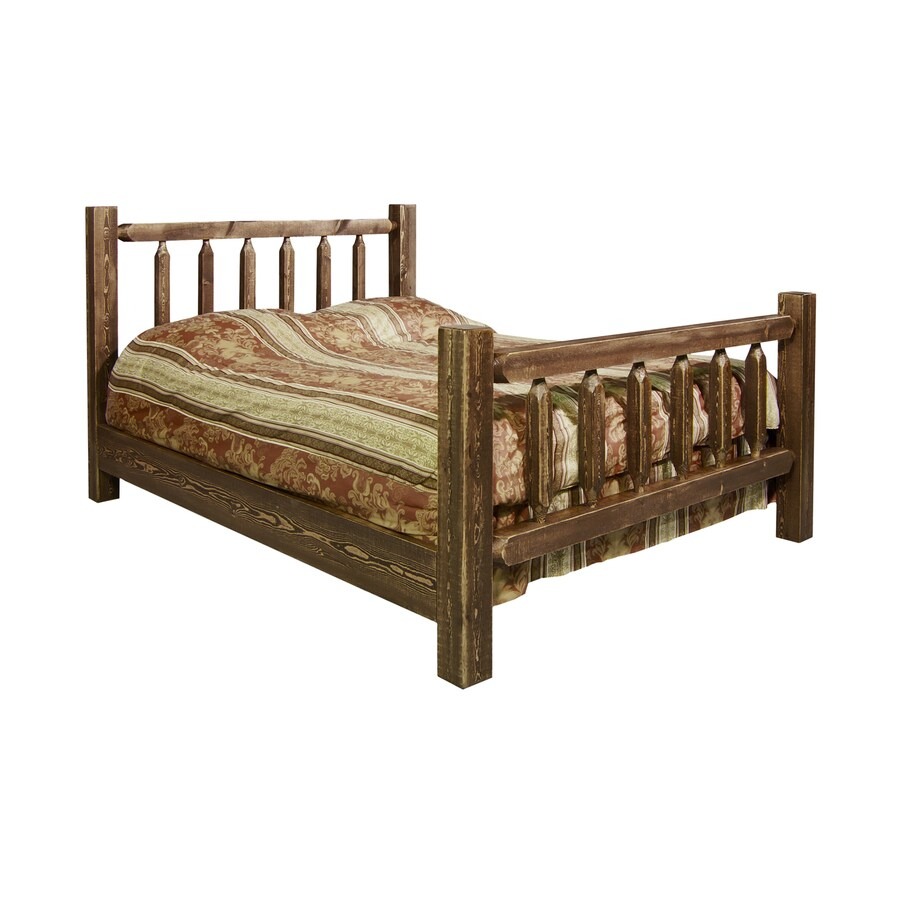 Montana Woodworks Homestead Stained/Lacquered Queen 4-Poster Bed