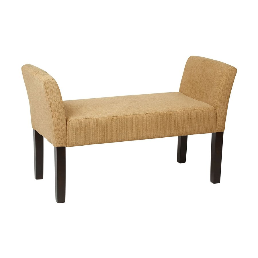 Office Star Ave Six Transitional Shultz Nugget Accent Bench