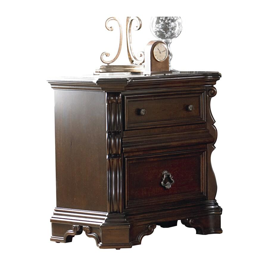 Liberty Furniture Arbor Place Brownstone Poplar Nightstand