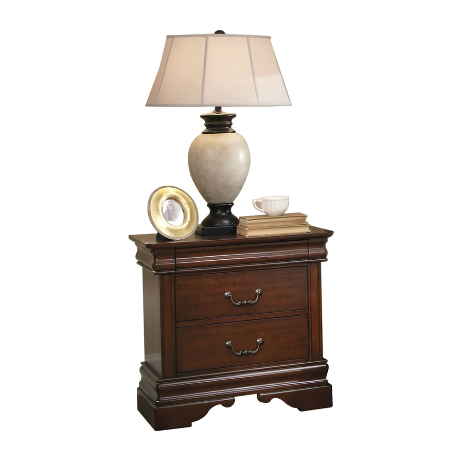 Liberty Furniture Carriage Court Mahogany Stain Pine Nightstand