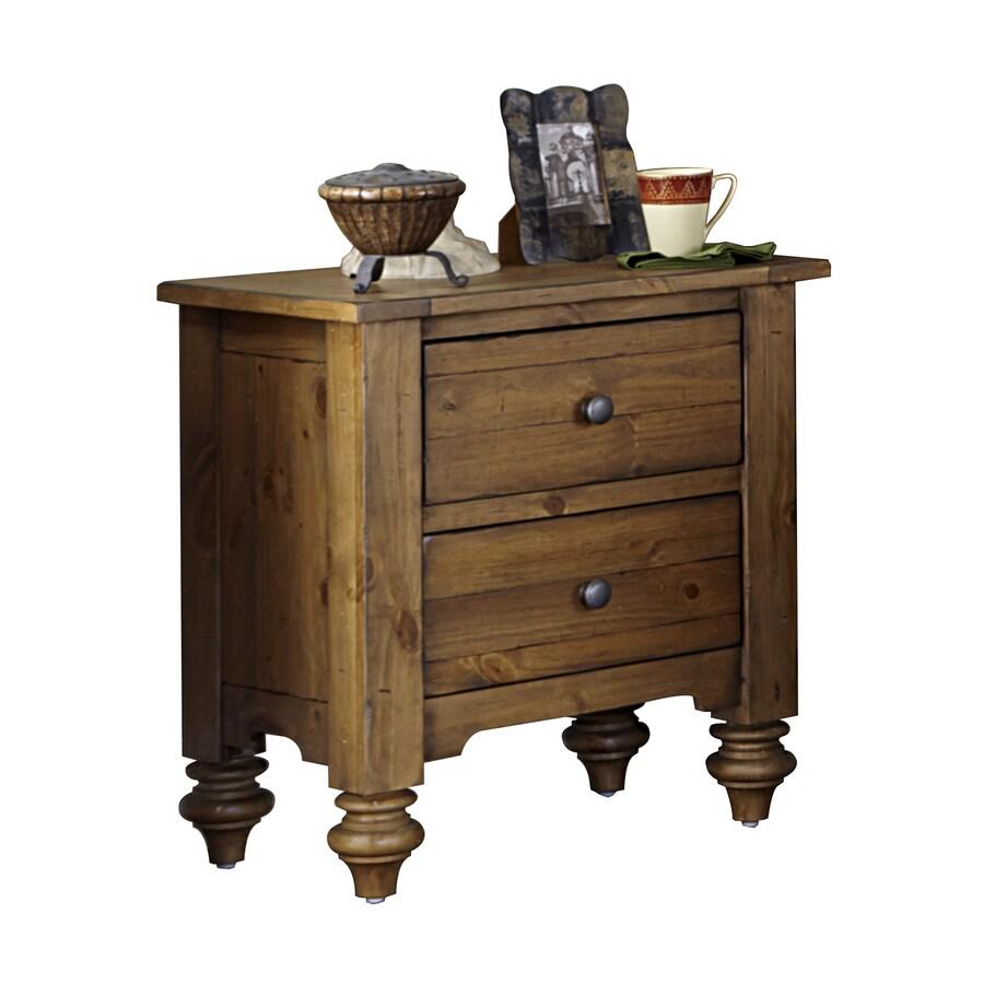 Liberty Furniture Southern Pines II Vintage Light Pine Nightstand