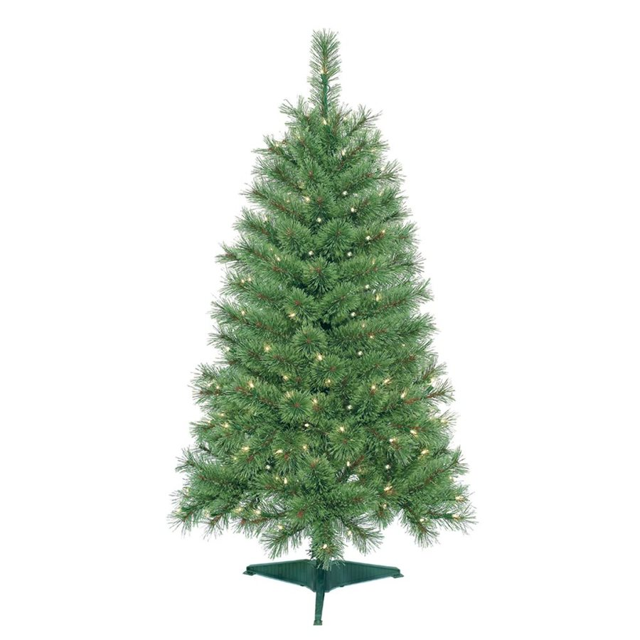 Shop Jeco 4 Ft 250 Count Pre Lit Artificial Christmas Tree