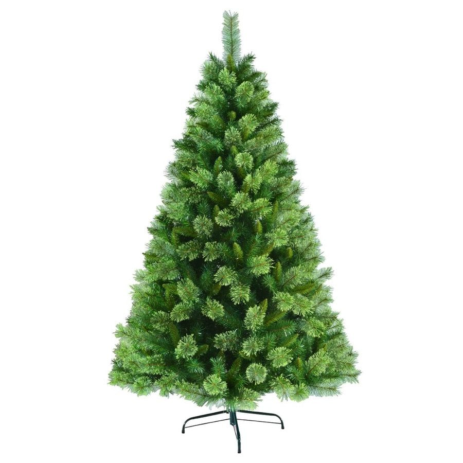 Shop Jeco 6.5-ft 880-Count Artificial Christmas Tree at Lowes.com