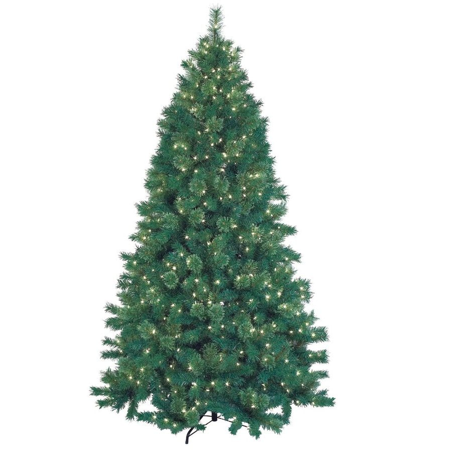 Jeco 7.5-ft Pre-lit Artificial Christmas Tree with 600 Lights