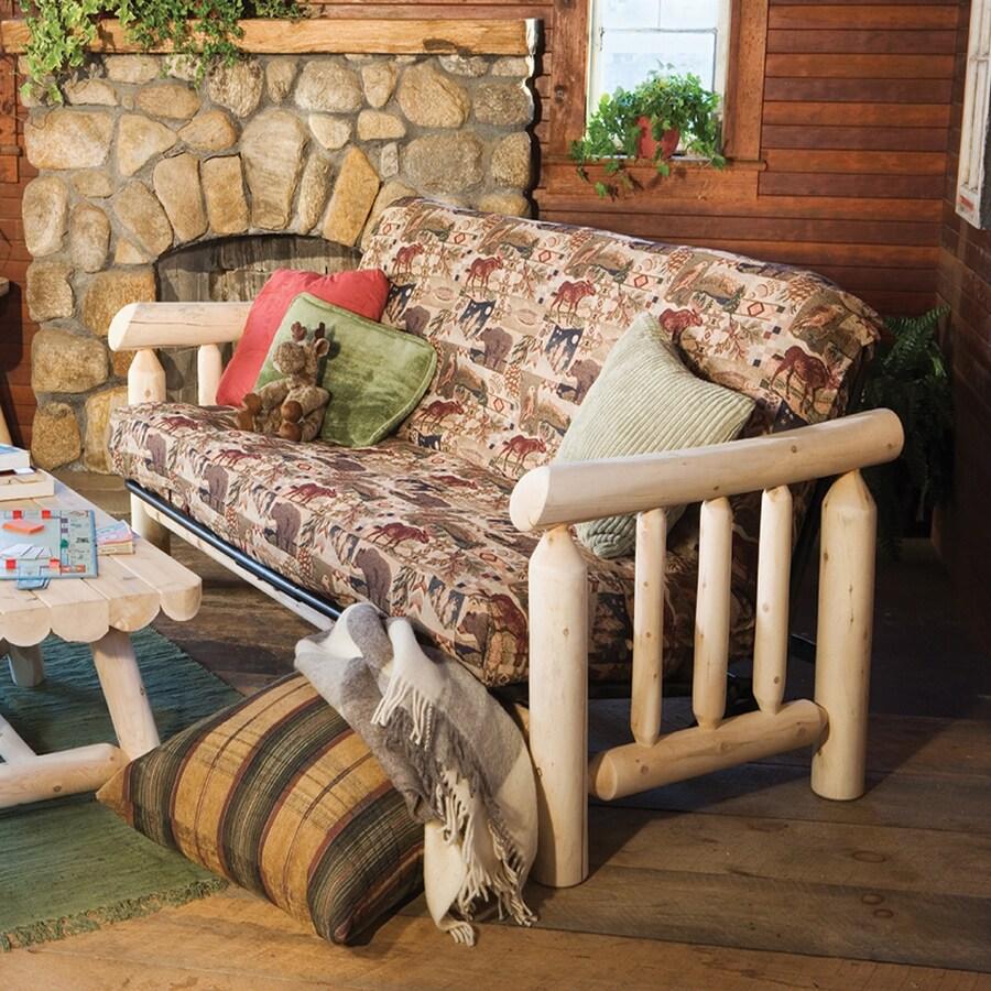 Rustic Natural Cedar Cedar Looks Natural Futon