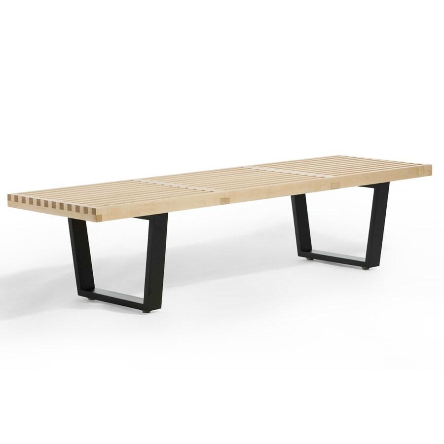 AEON Furniture Modern Classics Contemporary American Maple Accent Bench