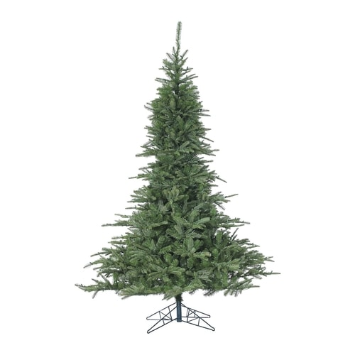 Fraser Hill Farm 7-ft 6-in Noble Fir Artificial Christmas Tree at Lowes.com