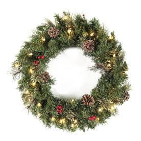 Shop Artificial Christmas Wreaths at Lowes.com
