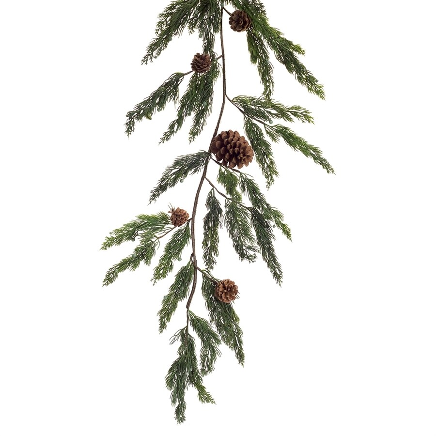 Melrose International Indoor 5.25-ft L Cypress Garland