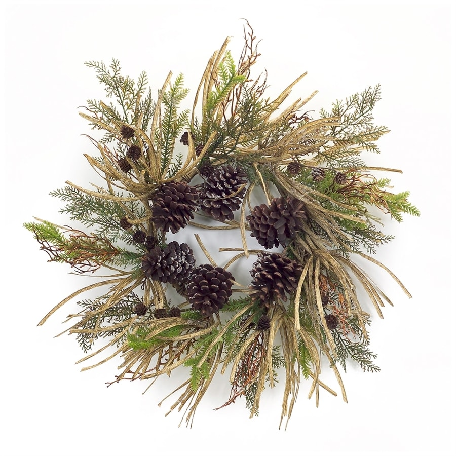 Melrose International 26-in Berry Artificial Christmas Wreath