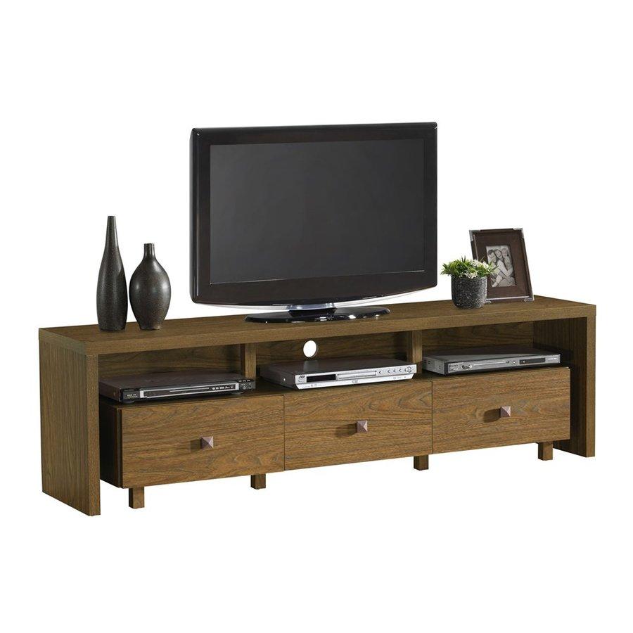 Techni Mobili Walnut Rectangular TV Cabinet