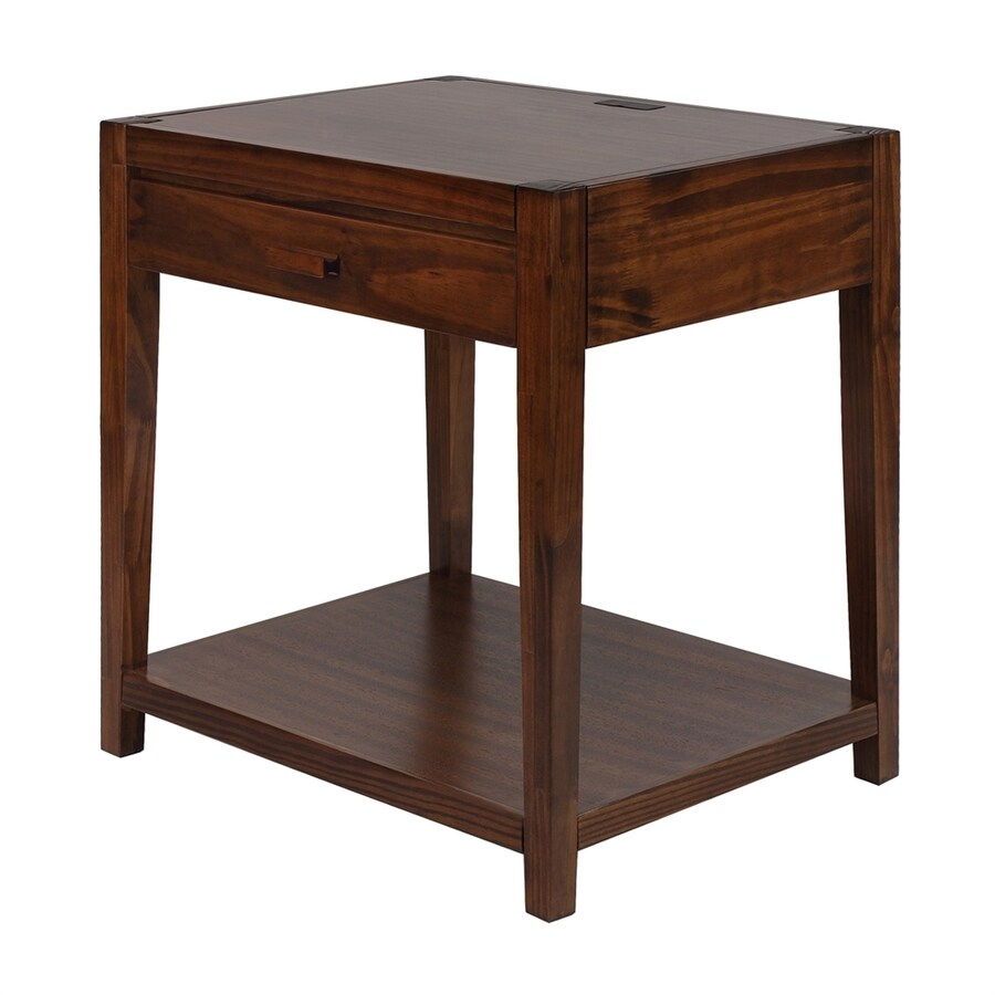 Casual Home Notre Dame Warm Brown Nightstand