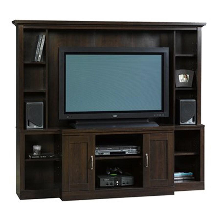 Sauder Select Cinnamon Cherry Rectangular TV Cabinet