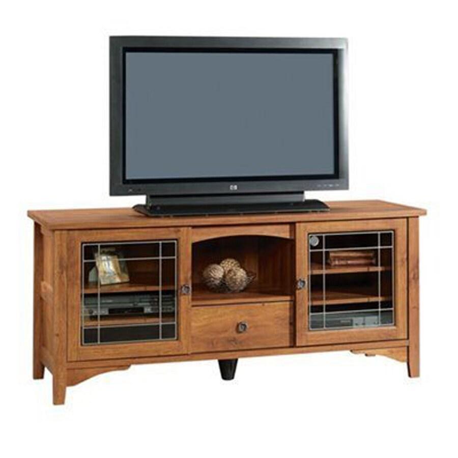 Sauder Rose Valley Abbey Oak Rectangular TV Cabinet
