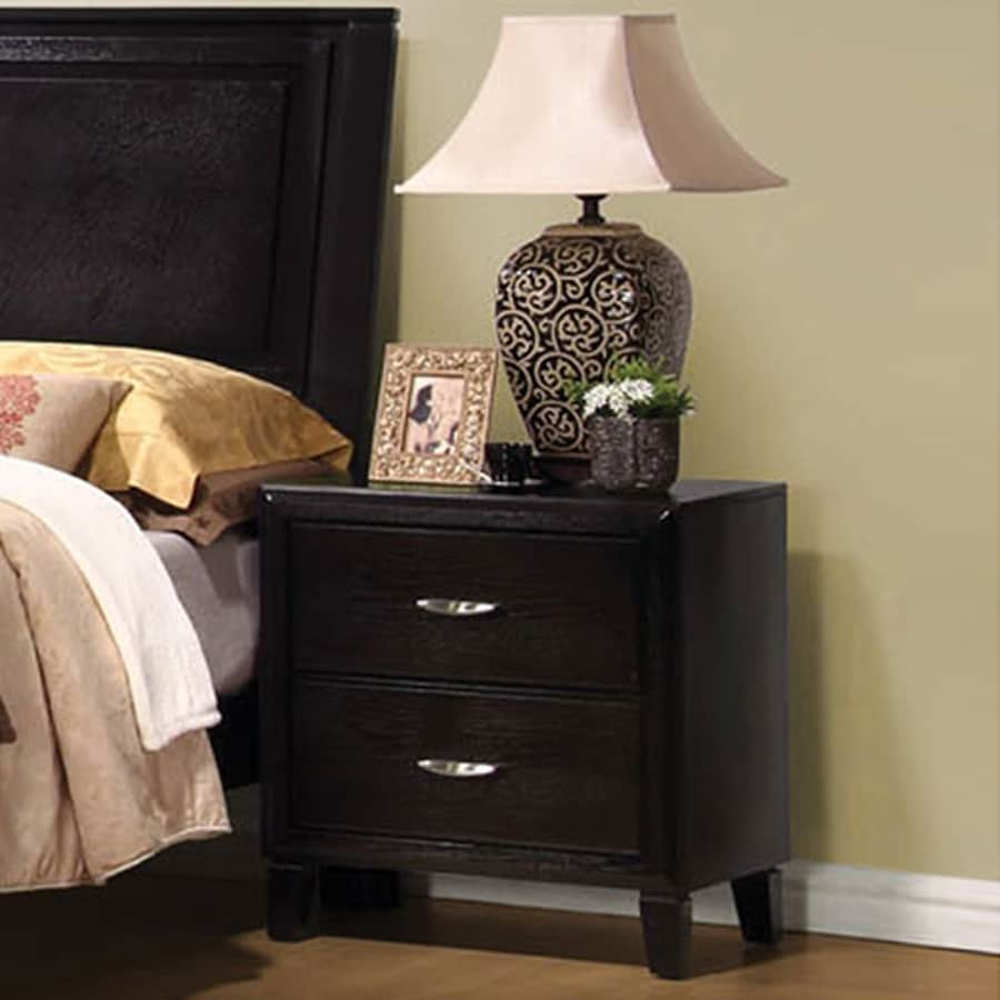 Coaster Fine Furniture Nacey Dark Brown Nightstand