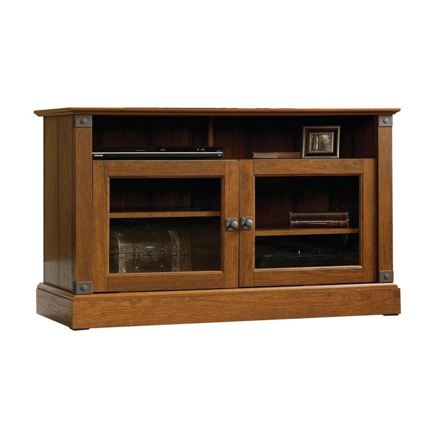 Sauder Carson Forge Washington Cherry Rectangular TV Cabinet