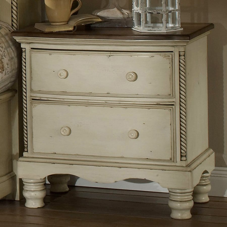 Decorating With Distressed Furniture: Shop Hillsdale Furniture Wilshire Distressed Antique White