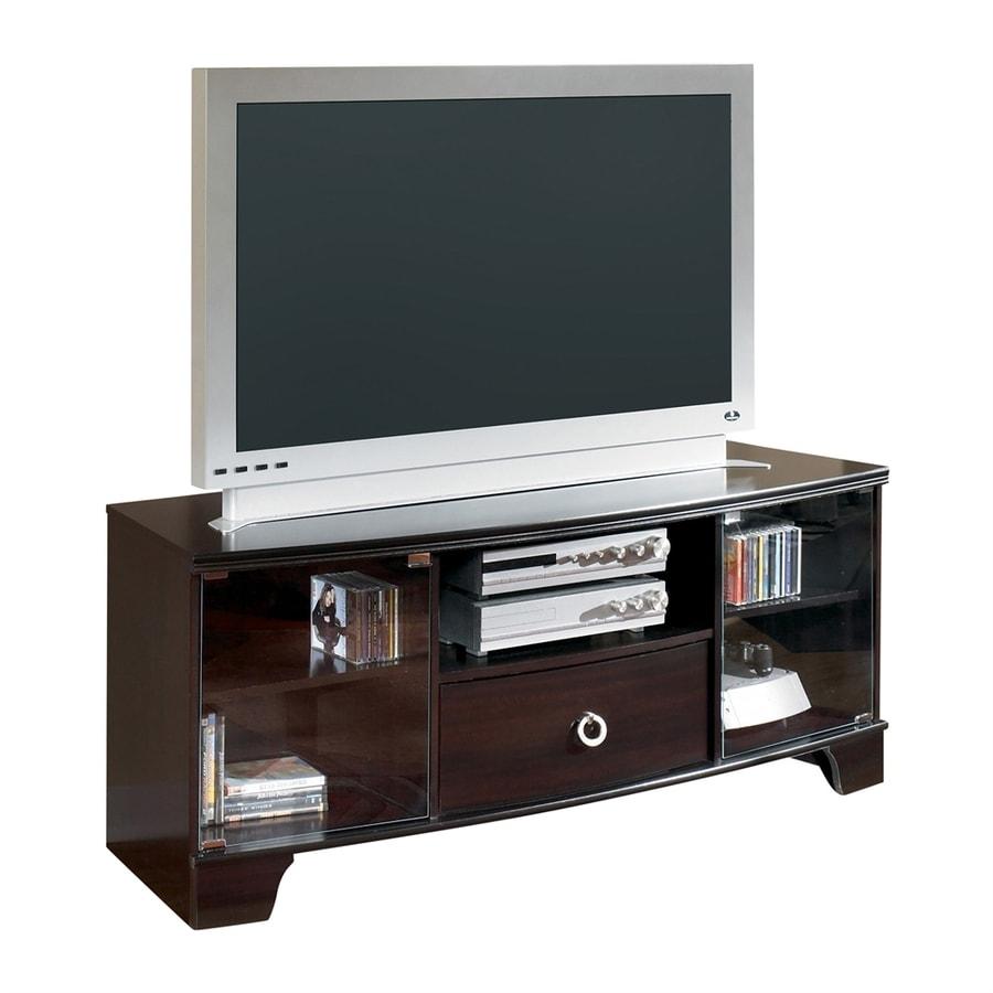 Signature Design by Ashley Pinella Merlot Rectangular TV Cabinet