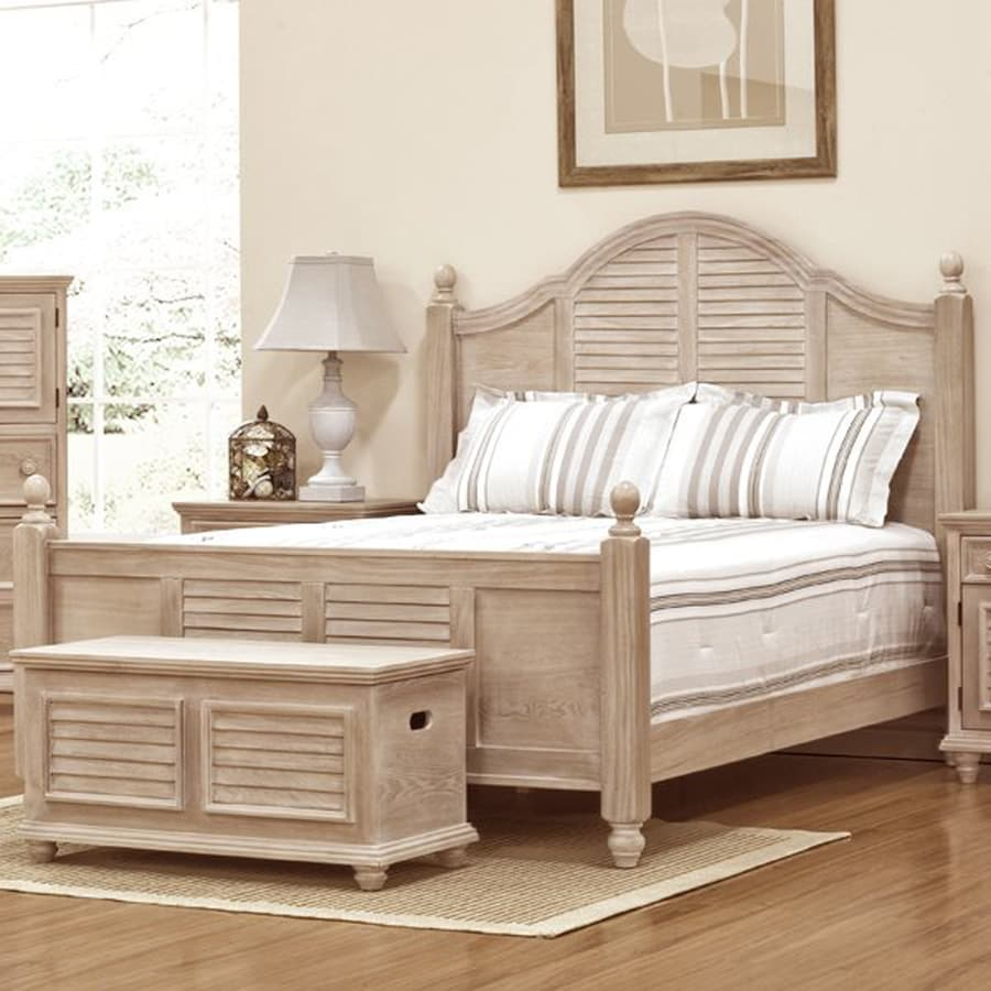 Ordinaire John Boyd Furniture Cape May Light Wood King Panel Bed