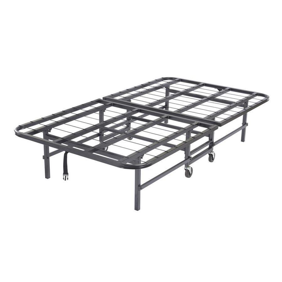 shop kb furniture black metal twin bed frame at. Black Bedroom Furniture Sets. Home Design Ideas