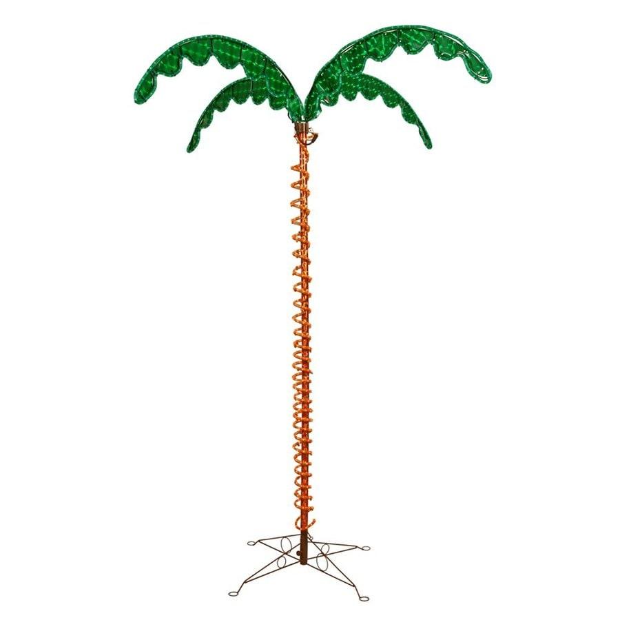 Vickerman 7-ft Freestanding Palm Tree Light Display Incandescent Lights