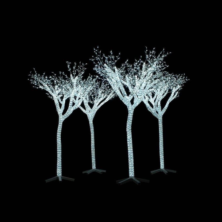 Vickerman 8.5-ft Freestanding Tree Light Display White LED Lights