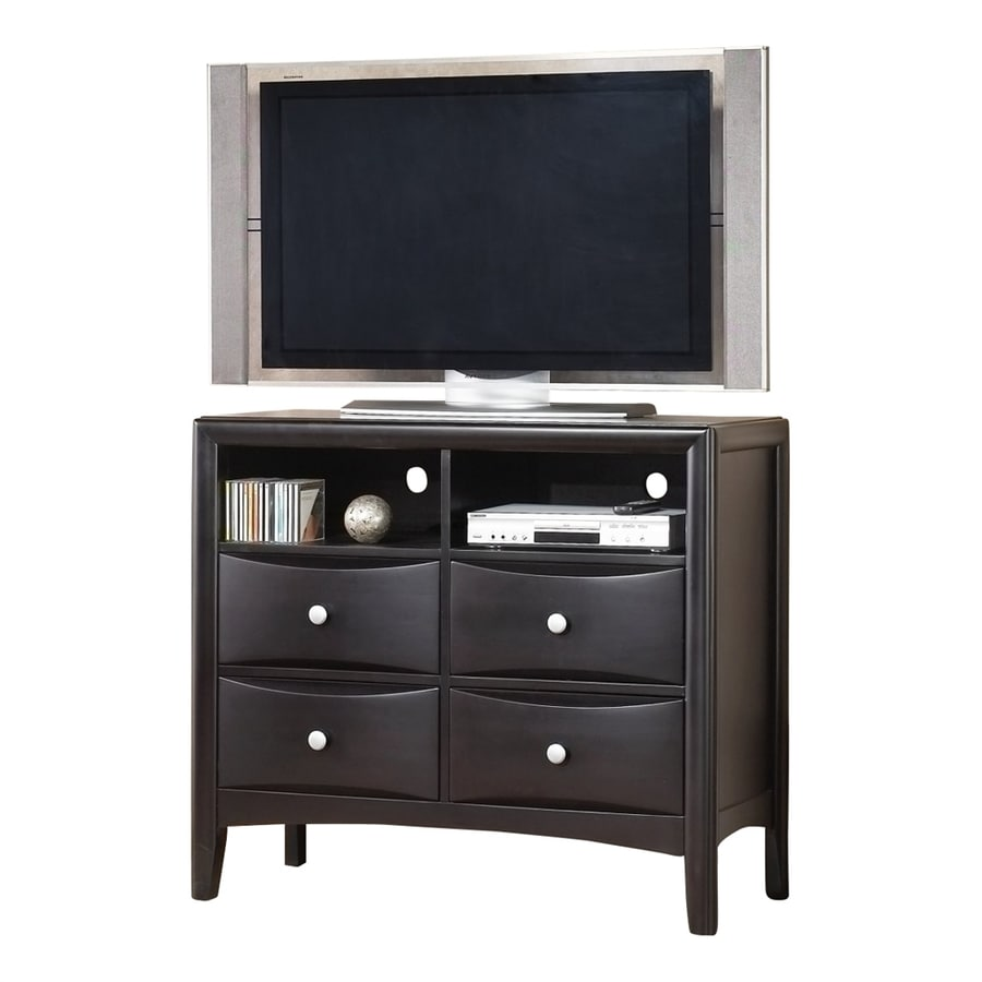 Alpine Furniture Laguna Dark Espresso 4-Drawer Chest
