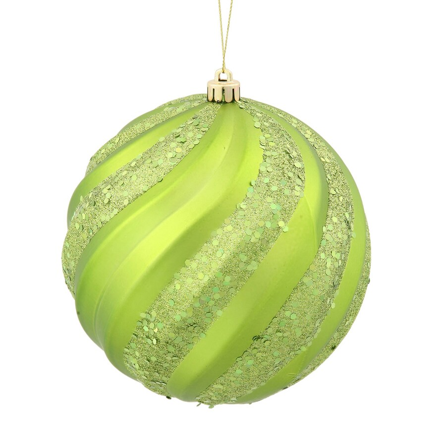 Vickerman Lime Ball Ornament