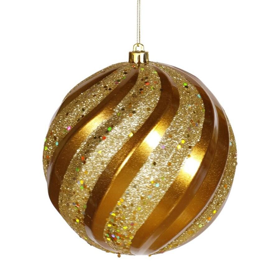 Vickerman Antique Gold Ball Ornament