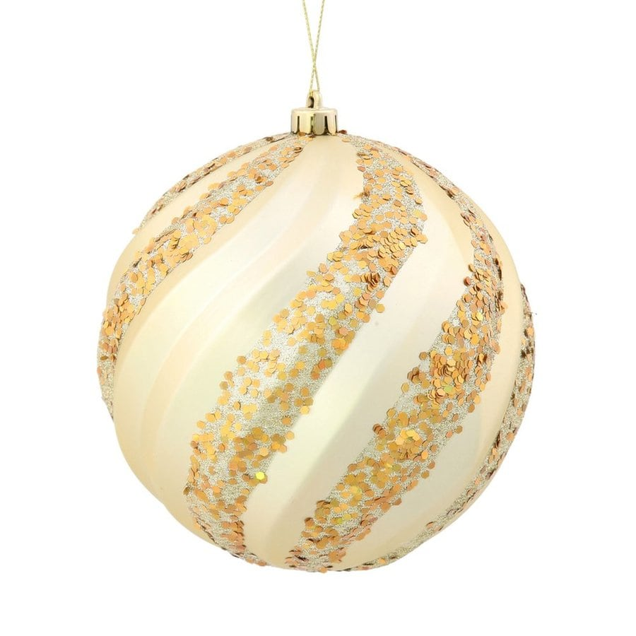 Vickerman Champagne Ball Ornament