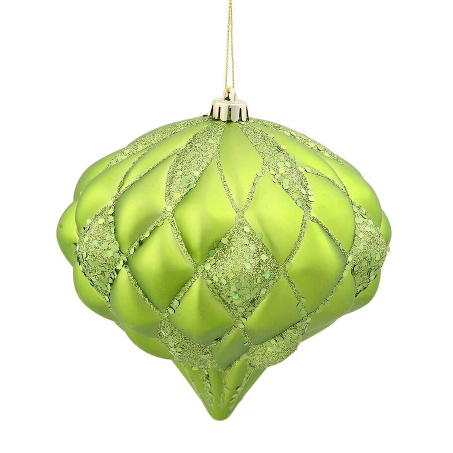 Vickerman Lime Diamond Ornament