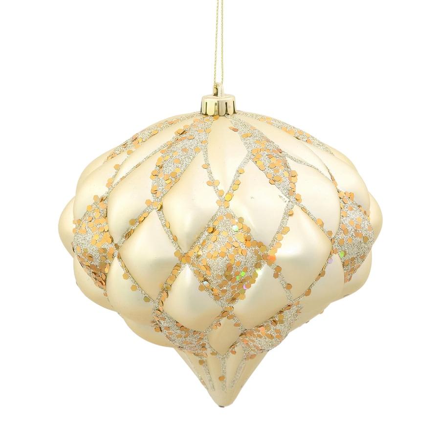 Vickerman Champagne Diamond Ornament