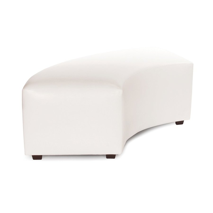 Tyler Dillon Avanti Transitional White Accent Bench