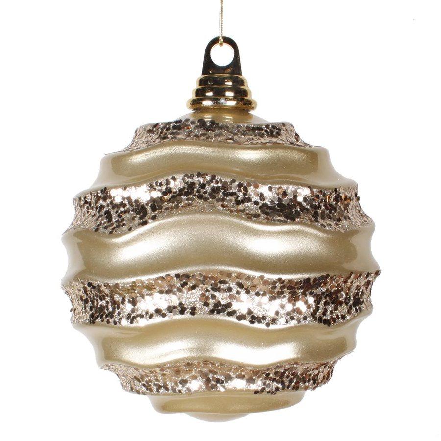 Vickerman Champagne Ball Ornament