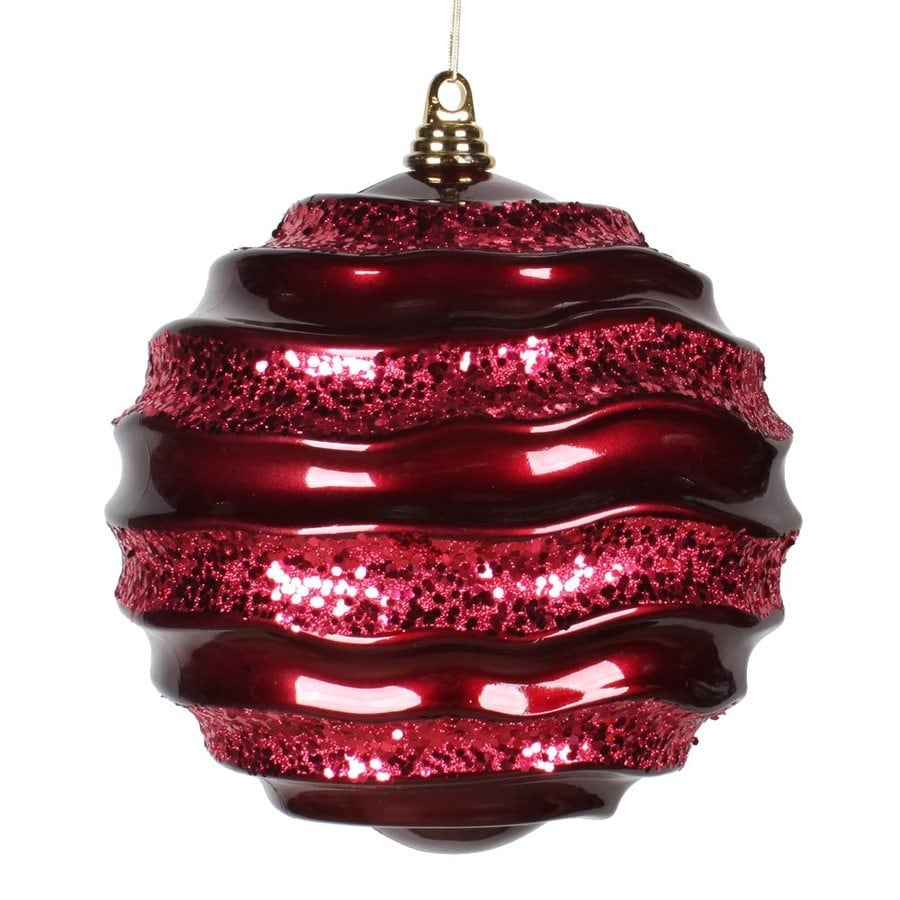 Vickerman Burgundy Ball Ornament