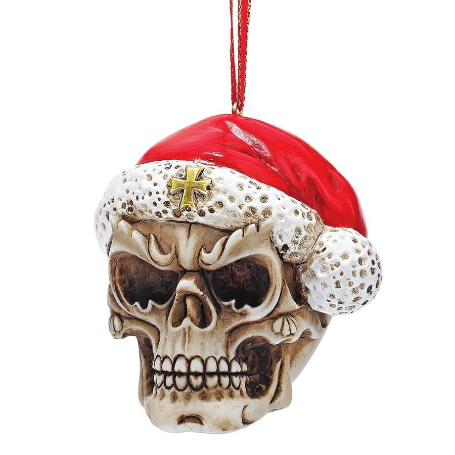 Design Toscano 3-Pack Skull Ornament Set