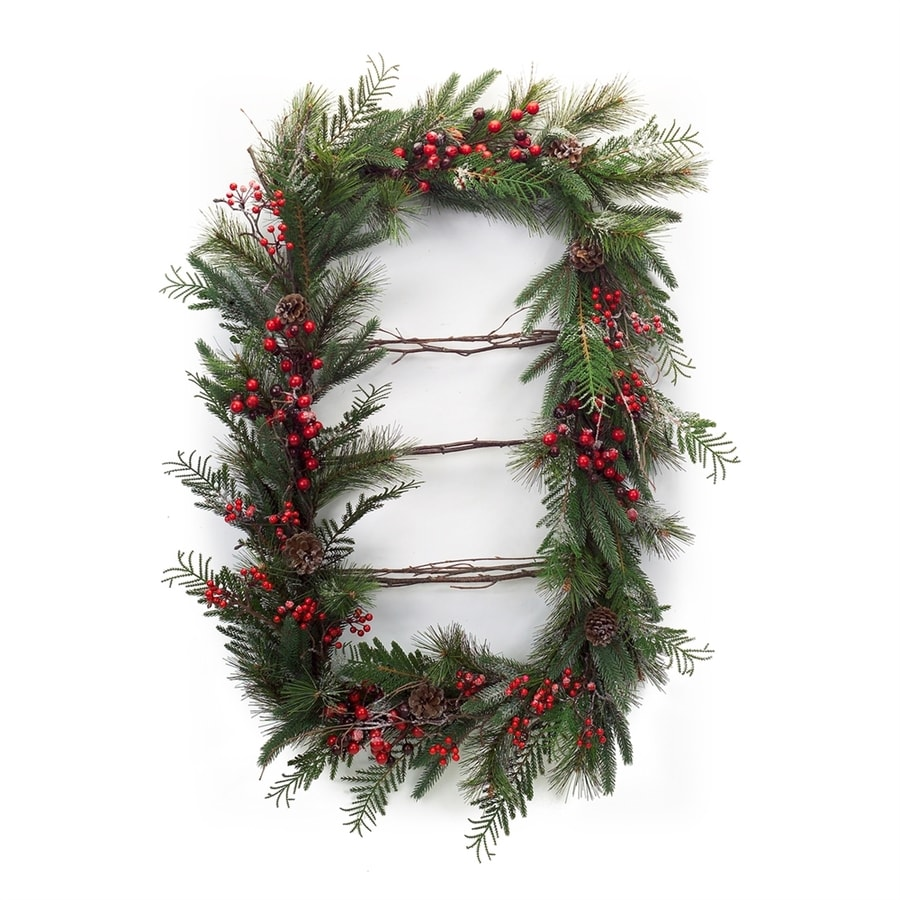 Melrose International 36-in Berry Artificial Christmas Wreath