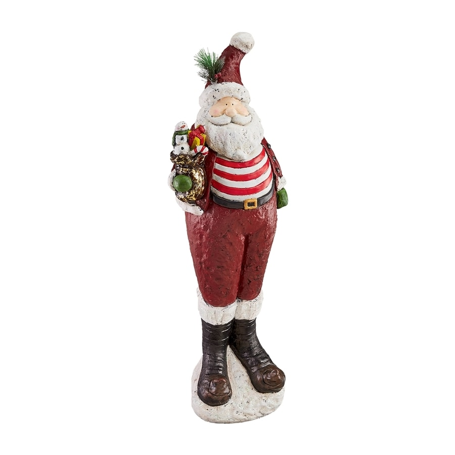 Design Toscano 3-ft 4-in Freestanding Chillin' with Santa Greeter