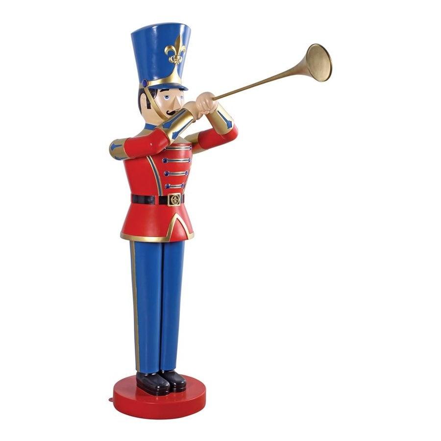 Design Toscano 4-ft Freestanding Trumpeting Soldier Sculpture