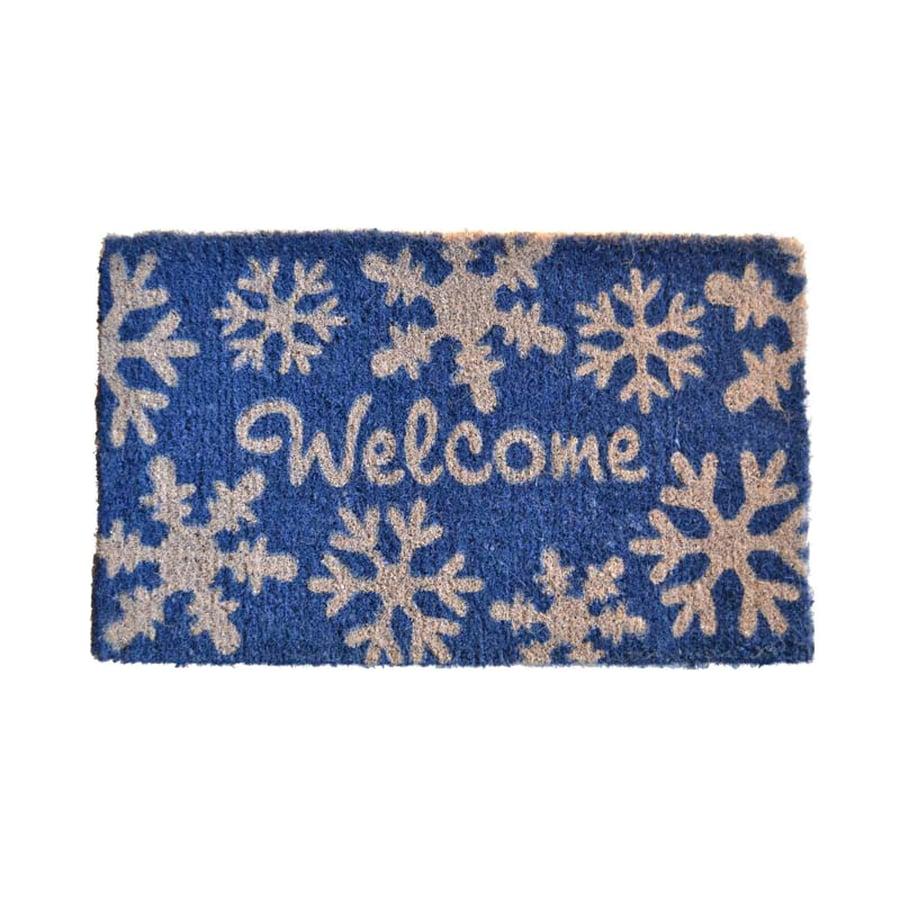 Shop Imports Decor Snowflake Mat At Lowes Com