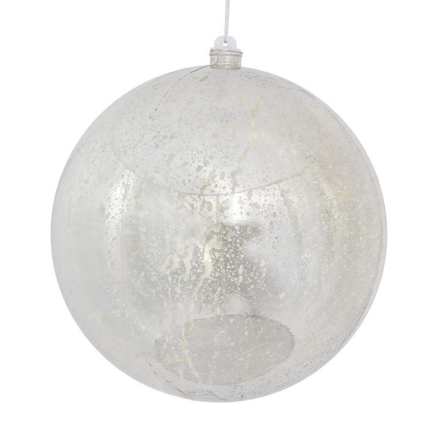 Vickerman Silver Shiny Ball Ornament