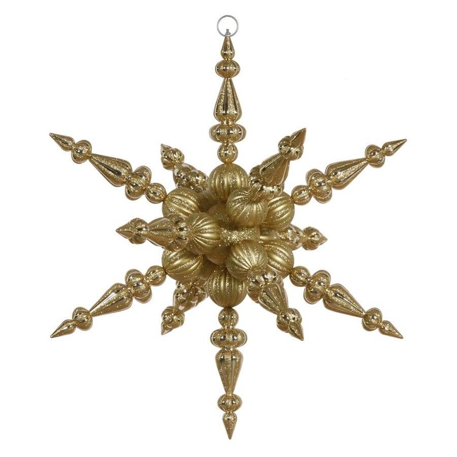 Vickerman Gold Star(S) Ornament