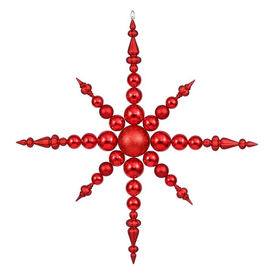 Vickerman Red Star(S) Ornament