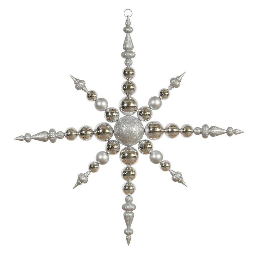 Vickerman Silver Star(S) Ornament