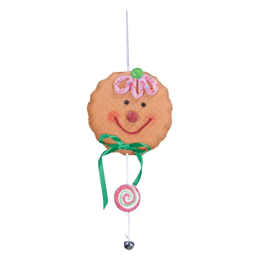 Fantastic Craft Brown/Pink Cookie Ornament