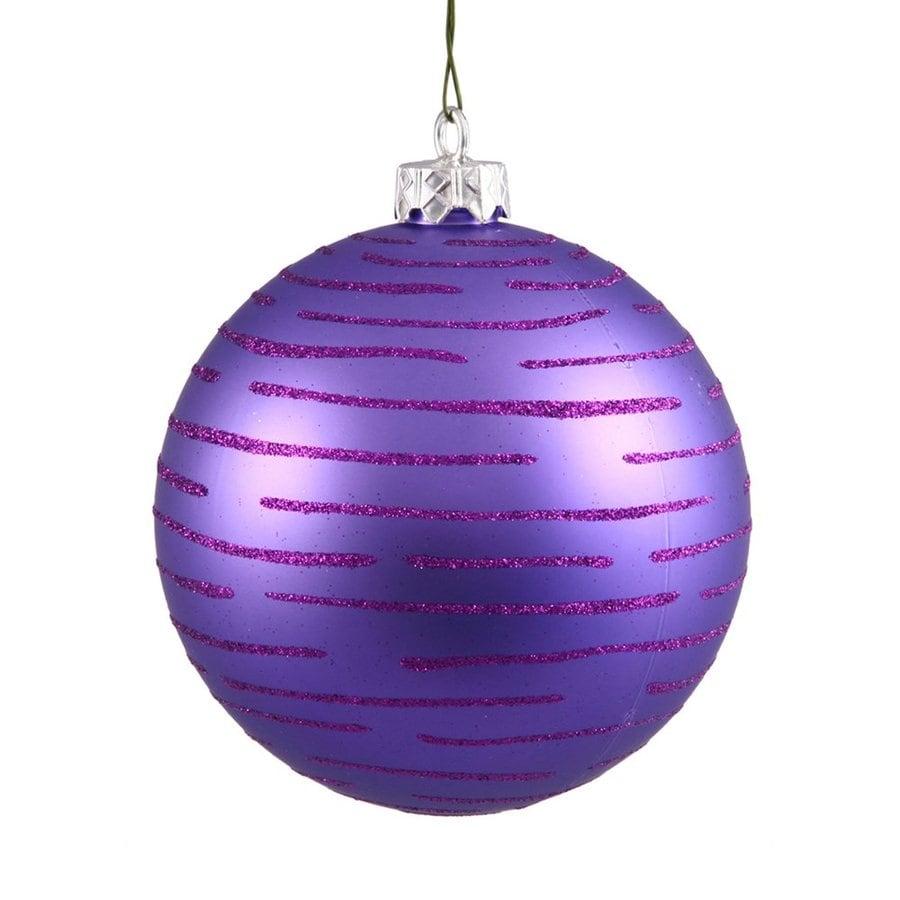 Vickerman Purple Ball Ornament