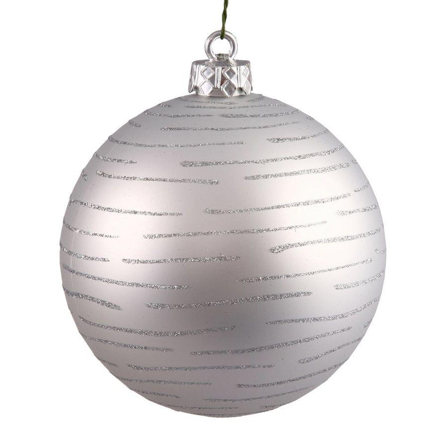 Vickerman Silver Ball Ornament
