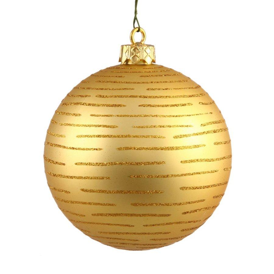Vickerman Gold Ball Ornament