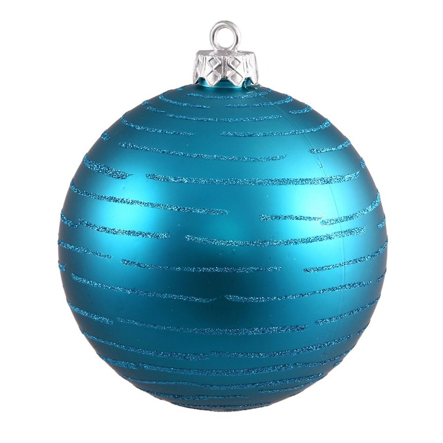 Vickerman Turquoise Ball Ornament