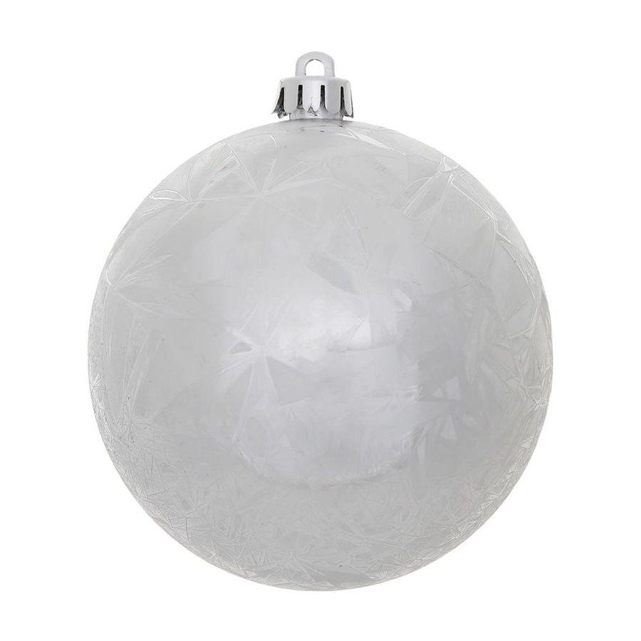 Vickerman 6-Pack Silver Ball Ornament Set